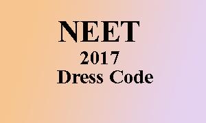 dress code for neet
