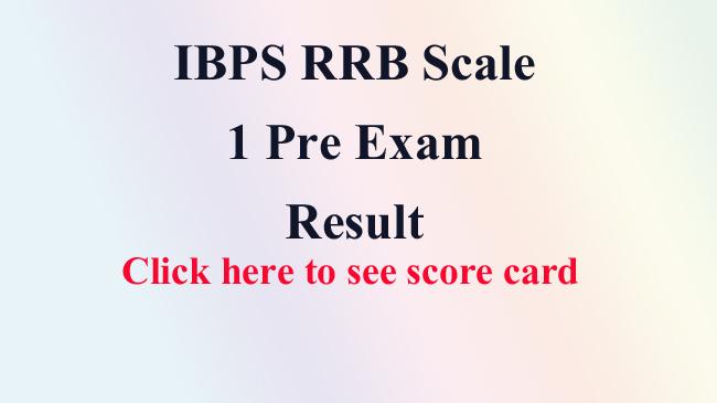 IBPS, ibps rrb, exam, pre, result, bank job, banking, india, job