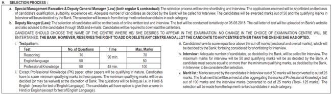 SBI, Jobs, Special Cadre, Law job, law officer, MBA job, भारतीय स्टेट बैंक, भर्ती
