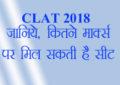 clat cutoff, clat 2017, clat 2018, common law admission test, nlu, national law university