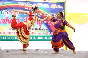 uttaranchal university, law college dehradun, llb freshers party, dehradun, uttarakhand, new session