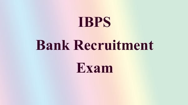 ibps exam bank job