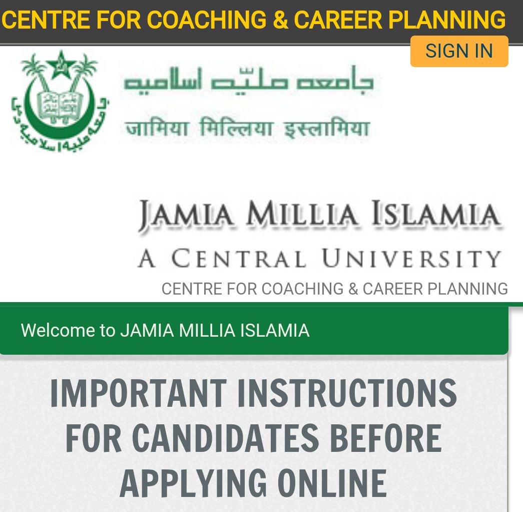 Jamia free coaching