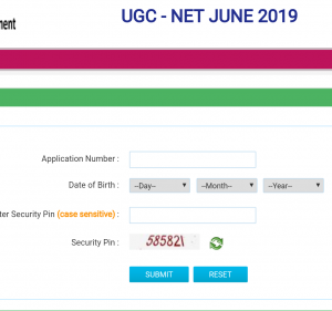 ugc net admit card 2019