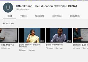 uttarakhand online education, eduset uttarakhand, dehradun, uttarakhand news, corona uttarakhand