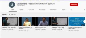 uttarakhand online education