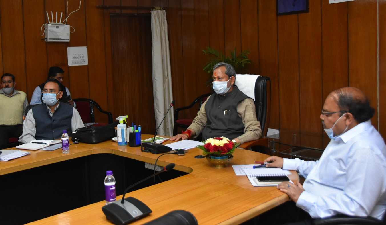 Uttrakhand CM Tirath Singh Rawat