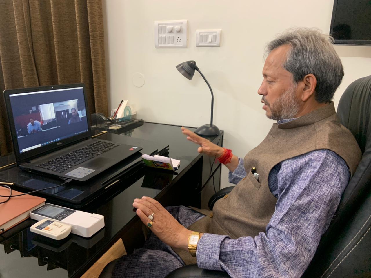 Uttarakhand CM in isolation