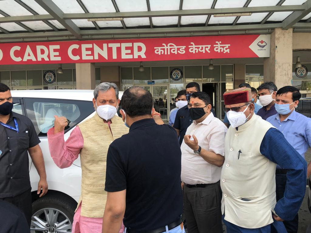Uttarakhand cm inspection