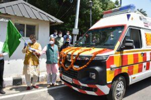 Uttarakhand new ambulance