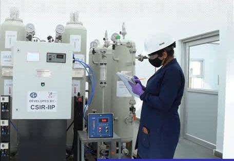 IIP Dehradun oxygen plant