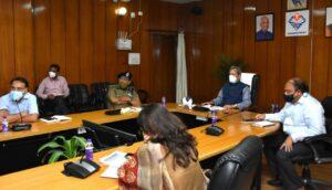 Uttarakhand cm meeting