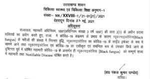 Uttarakhand black fungus epidemic