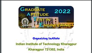 GATE 2022, Graduate Aptitude Test In Engineering Application, gate admission, gate 2022 admit card, gate 2022 exam date, gate 2022 result, gate score, iit kharagpur