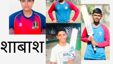 Doon baluni cricket academy players