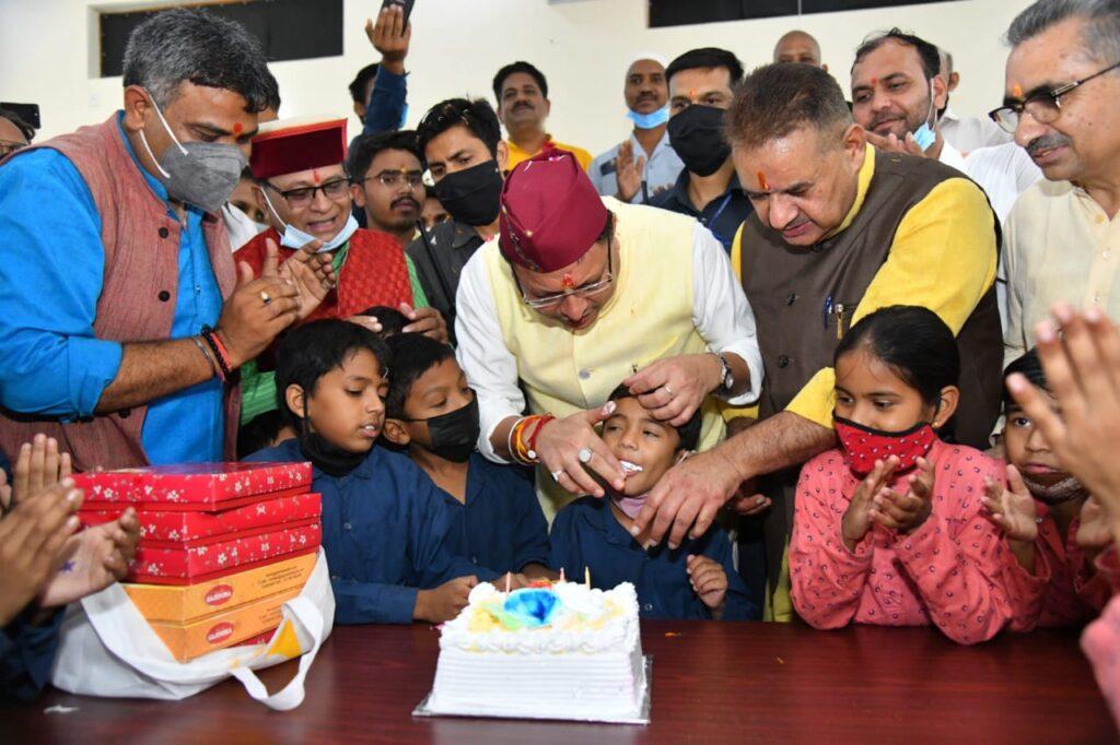 Uttarakhand cm birthday