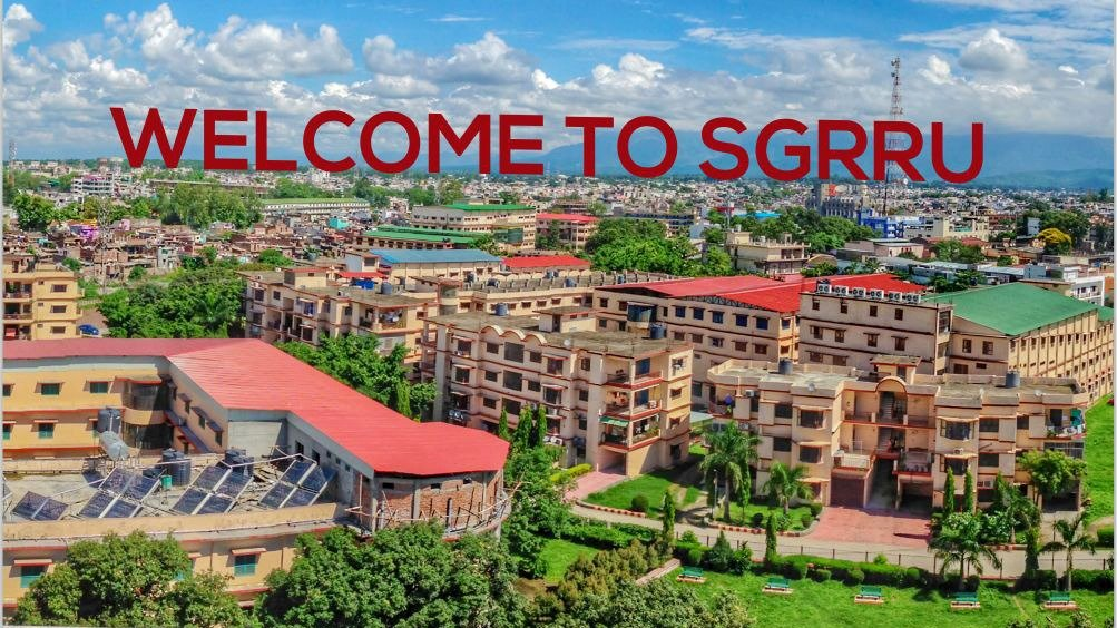 sgrr university dehradun